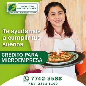 Crédito para micro empresa